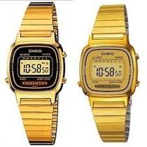 Relógio Casio La670wga 9df Retro Vintage Original