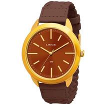 Relógio Orient Lince Feminino Lrck008l.m1mx Folk Couro