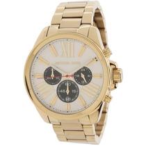 Relógio Michael Kors Mk5838 Dourado Lindo Frete Grátis.