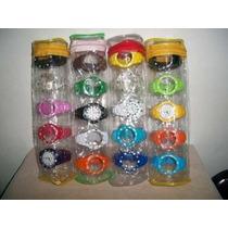 Kit - Relógio Troca Pulseiras 5 Cores Com Garantia