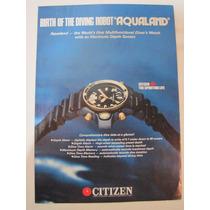 Pagina De Revista America, Propaganda Citizen Aqualand Co23