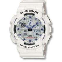 Relógio G-shock Ga 100a-7adr - 100% Original