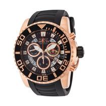 Relógio Invicta Pro Diver 14675 Banhado Ouro Rosê 18k ! 53mm