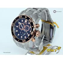 Invicta Pro Diver 80036 - Orig - Tamanho 48mm Deth Ouro Rose