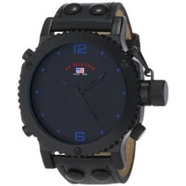 Relógio U.s. Polo Assn. Classic Masculino Us4022 Preto Analo