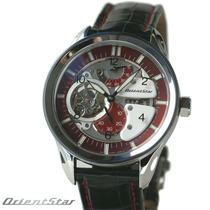Relógio Automático Orientstar Fh3co Esqueleto Estilo Bulova