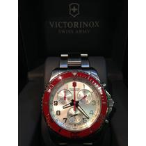 Relogio Vitorinox 12x S/juros Maverick Gs Chronograph 241434