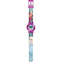 Relógio Digital Frozen - Rosa Escuro - Intek