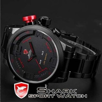 Relógio Shark Sport Militar Analógico - Pronta Entrega -