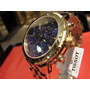 Relógio Tissot Prs200 Azul Dourado Metal T067.417.33.041.00