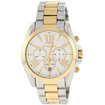 Relógio Michael Kors Mk5627 Prata E Dourado 12 X Sem Juros