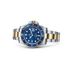 Relogio Submariner Azul Misto Garantia 12x Sem Juros