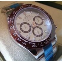 Relógio Eta Valjoux Modelo Daytona Platinum Ice Blue Dial