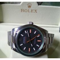 Relógio Eta 2836 Modelo Milgauss Dial Preto 40mm