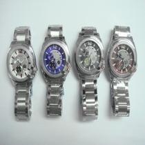 Relógio Com Incrível Designe( Exemplo Da Foto Em Visor Azul)