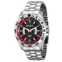 Relógio Masculino Analógico Seculus 28596g0svna1 - Cromado