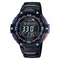 Relógio Casio Sgw-100-2b Outgear Digital Compass, Thermomet