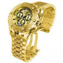 Relógio Invicta 1568 Reserve Subaqua Gold Em 5x Sem Juros.
