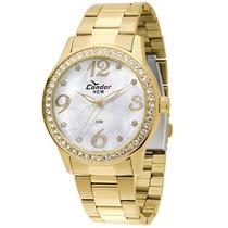 Relógio Condor Kw86665/4k - Dourado - Feminino 12 Sem Juros
