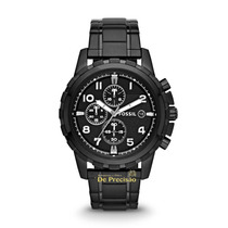 Relógio Cronógrafo Fossil Black Fs4827/1pn