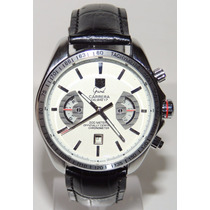 Relógio Tag Calibre 17 Grand Carrera Rs2 Branco Automático