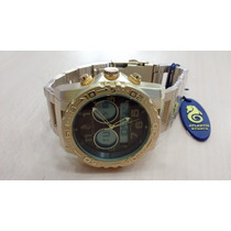 Relógio Original Atlantis Em Aço Analogo Digital Resistente