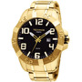 Relógio Technos Dourado Masculino 2315yg/4p Sensacional