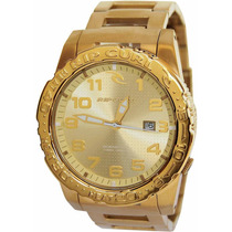 Relógio Rip Curl Cortez 2 Heat Bezel Gold