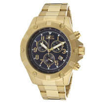 Invicta 13620 Specialty Chronograph Blue Dial 18k Gold
