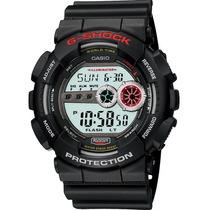 Relógio Casio G-shock Gd-100 5 Alarmes 48 Cidades 200 Mt Pt