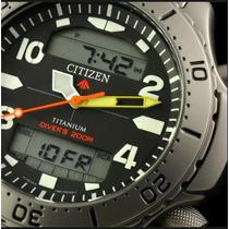 Relógio Citizen - Jp3040-59e - Promaster - Aquamont Em Aço