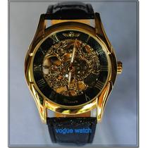 Relógio Semi Automático Skeleton Winner Importado Luxuoso