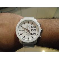 Relógio Diesiil Branco 100% Cerâmica