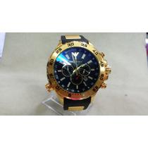 Relógio Emporio Armani 0690 Dourado