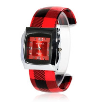 Relógio Bracelete Feminino Pulso Xadrez Fashion Importado