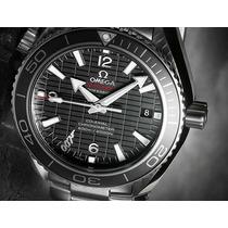 Relógio Omiega James Bond Skyfal 0007 Vidro Em Safira.