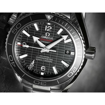 Relógio Omiega Skyfal 0007 Automático Vidro Em Safira.