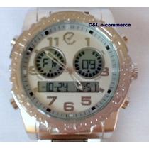 Relógio Masculino Ecotime Modelo Rip Curl Cortez G-3216