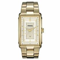 Relógio Masculino Fossil Dourado Aço C/calendário Ffs4769z
