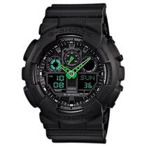 Relógio Casio G-shock Ga-100c-1a3 - Garantia Oficial Brasil