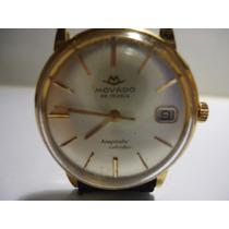 Relógio Movado De Ouro Kingmatic Calendar - Único Dono