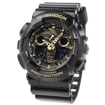 Relógio Casio G-shock Ga100cf 1a9 Camuflado Novo E Original
