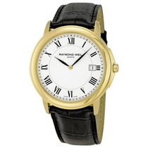 Relógio Raymond Weil Tradition White Dial Gold - New !!!