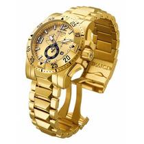 Relógio Invicta 15327 Excursion Reserve Dourado Frete Grátis