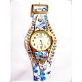 Kit C/15 Relógios De Pulso Feminino Bracelete Strass - 12x