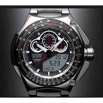 Relógio Citizen - Jw0051-55e - Eco-drive Super Cronógrafo