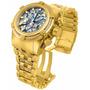Invicta Bolt Zeus 12902 Skelecton Todo Banhado Ouro 18k Orig