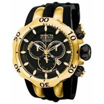 Relógio Invicta Venom - 10833 Banhado Ouro 18 K Temos Zeus