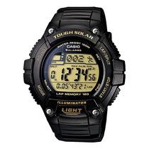 Relógio Casio W-s220 9av Solar 5 Alarmes Cronometro Wr100 G