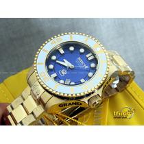 Invicta Grand Diver Automatico 21177 Banhado Ouro 18k 47mm